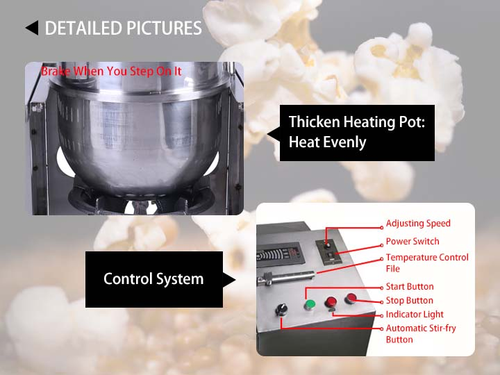 popcorn maker detail information