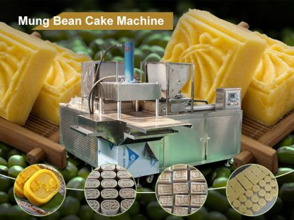 green bean cake making machine