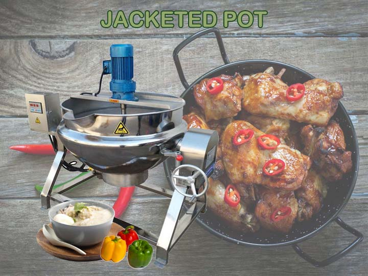 jacketed pot