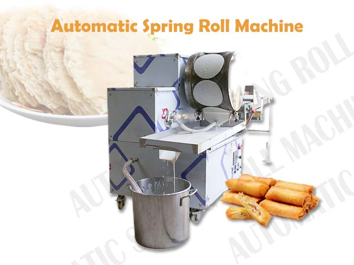 main feature of the spring roll machine