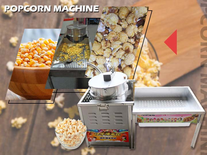 main picture of popcorn making machine