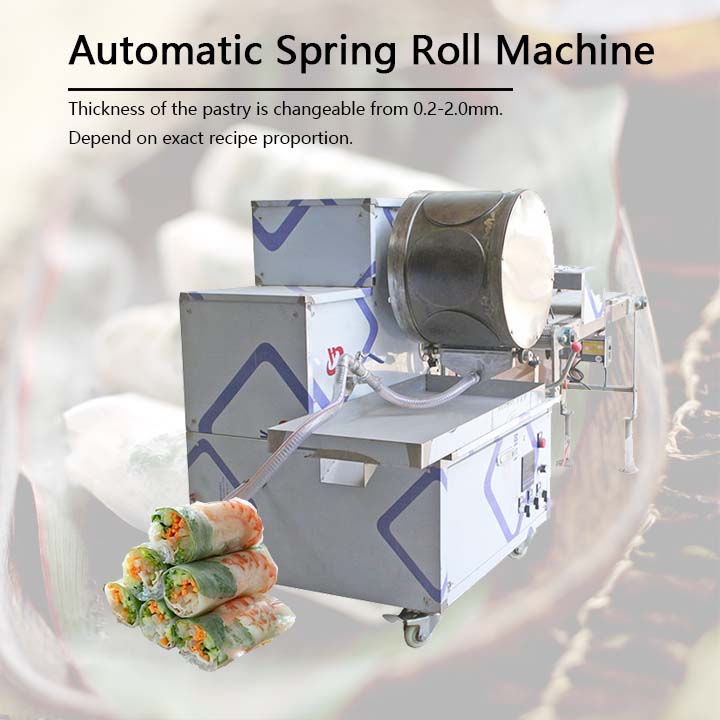 spring roll making machine