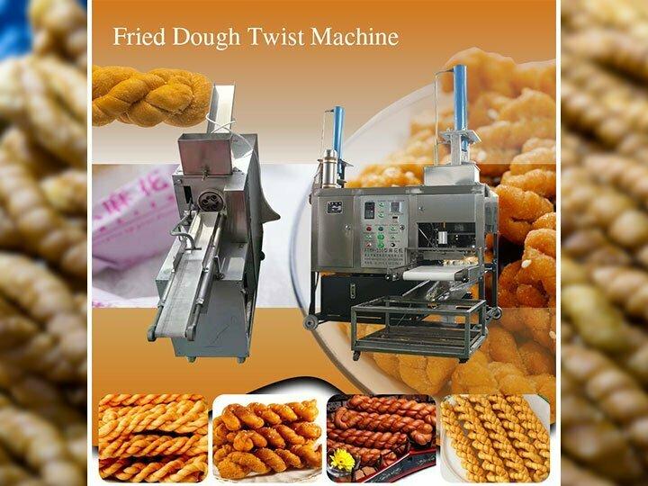 Fried dough twist machine