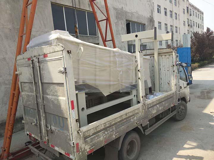 Truck shipment