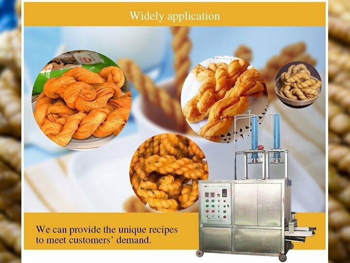 application fried dough twist maker
