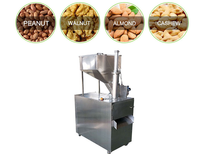application of almond slicer
