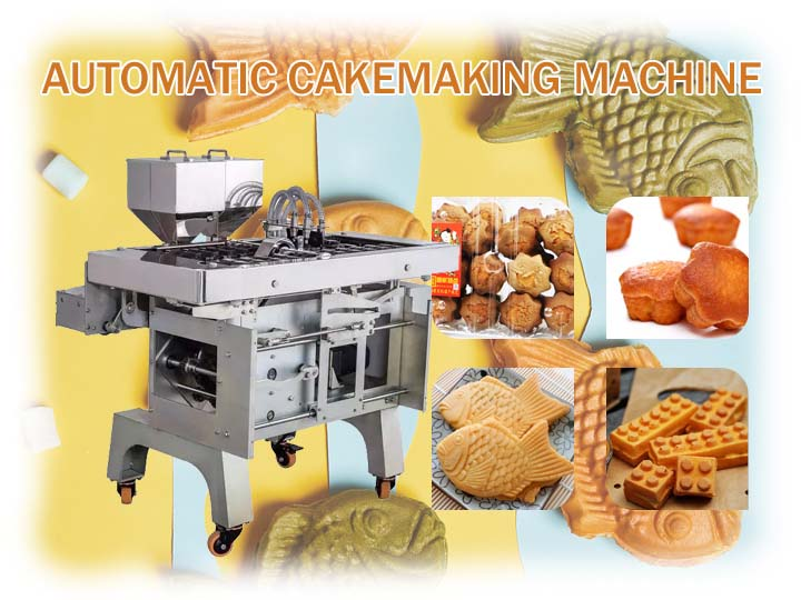 cake making machine