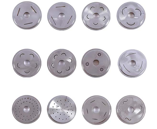 different kinds of molds