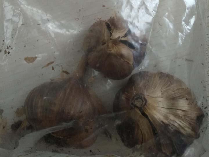 end production black garlic