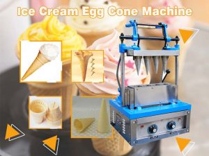 ice cream cone machine