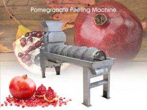 main picture of pomegranate peeling machine