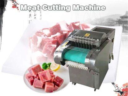 meat chicken cutting machine