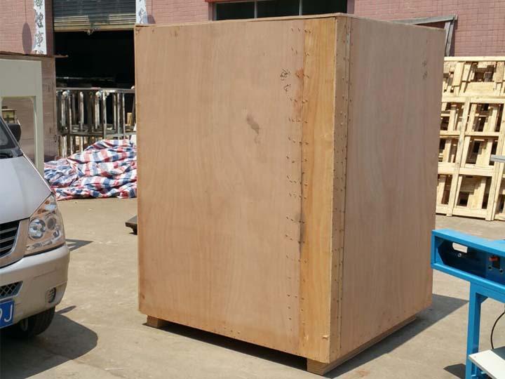shipment wood case