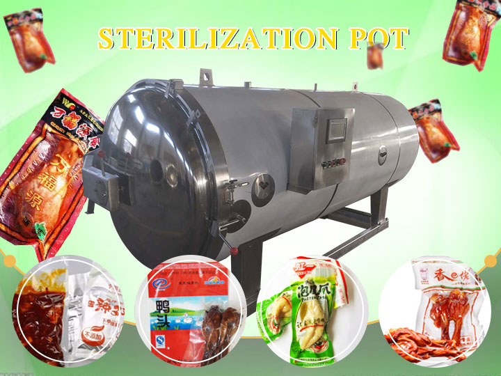 single sterilization pot application