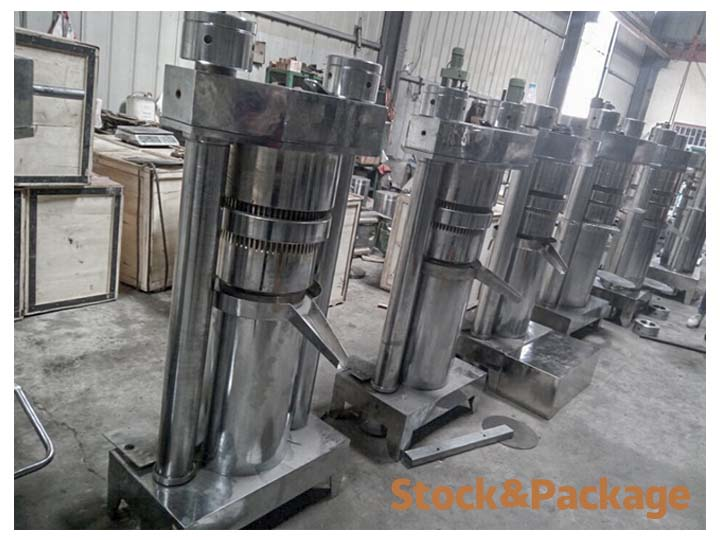 stock in our factory