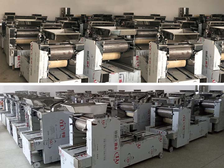 2. stock of biscuit forming machine