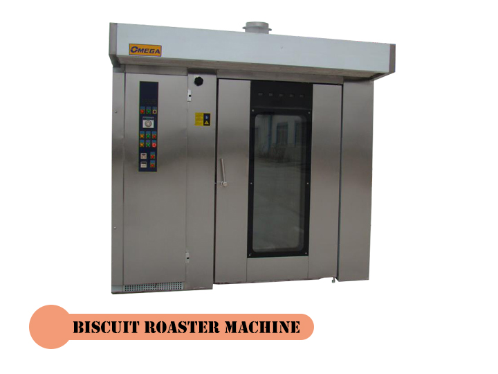 3 biscuit roaster machine