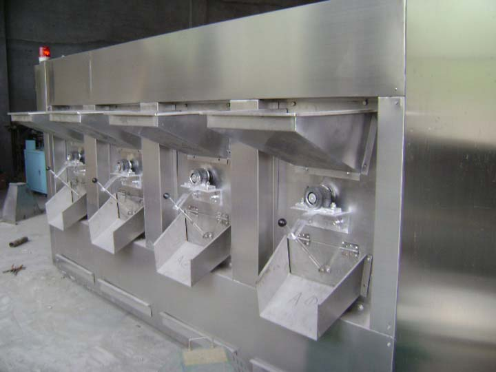four-case peanut baking machine
