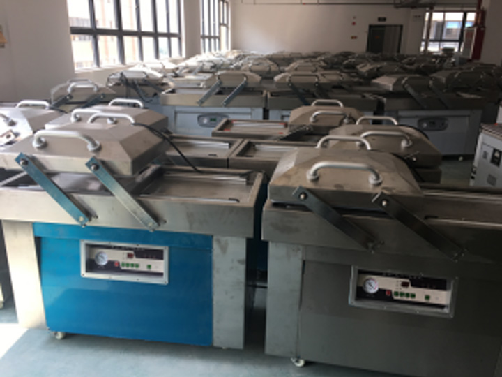 stock of the vacuum packaging machine