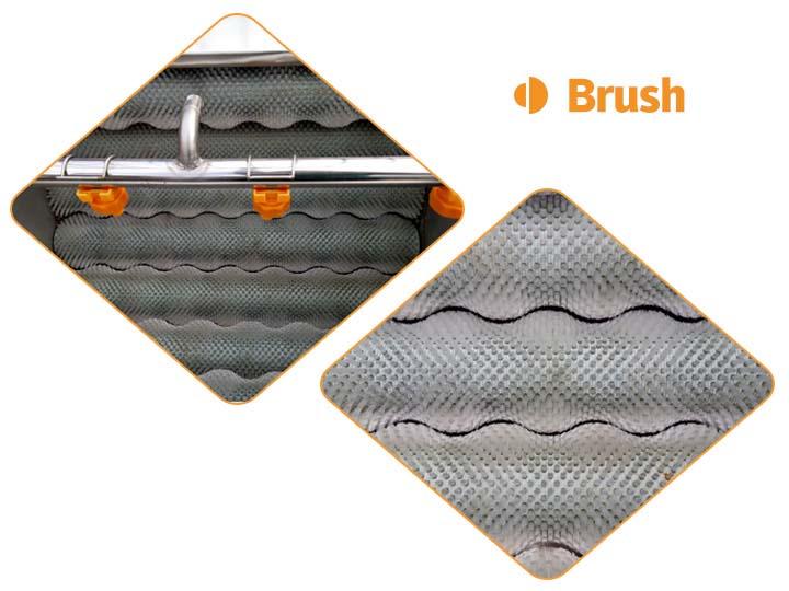 the brush of the vegetable washing machine