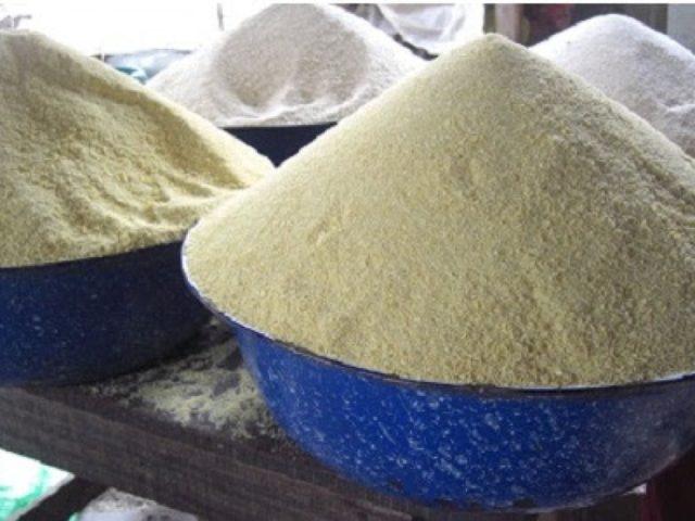 Garri made by cassava