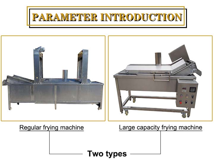 introduction of mesh fryer