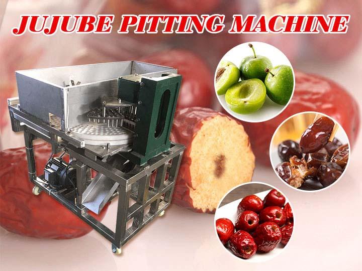 jujube pitting machine