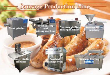sausage production line