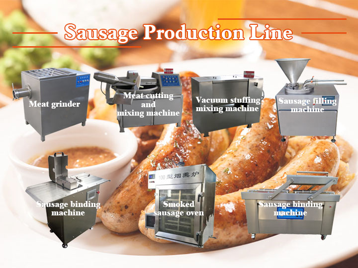 sausage production line