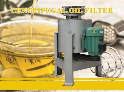 the centrifugal oil fliter