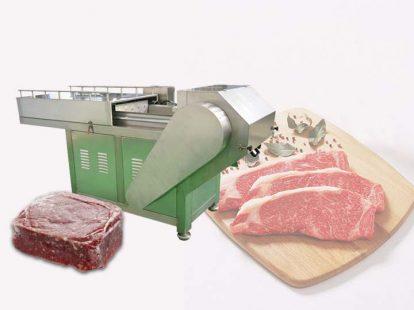 commercial frozen meat slicer