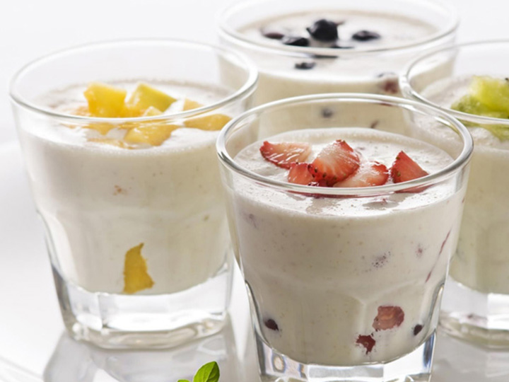 end production - yogurt