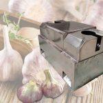 garlic root cutting machine