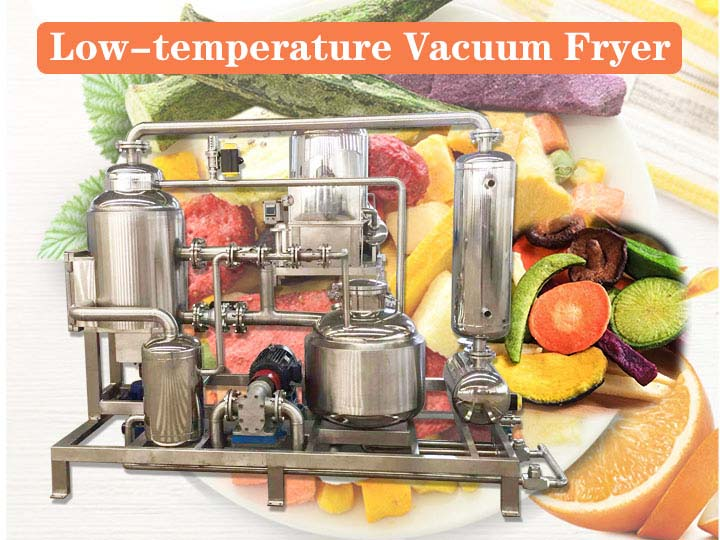low-temperature vacuum fryer