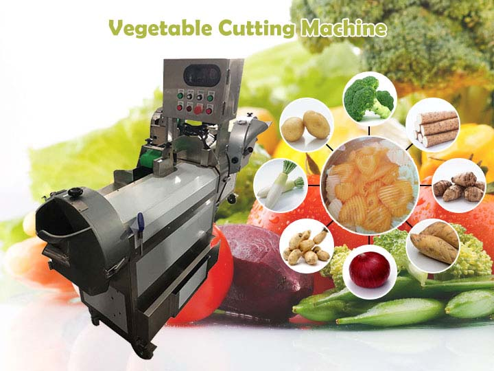 multi-function vegetable cutting machine