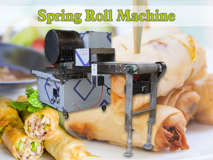 spring roll machine