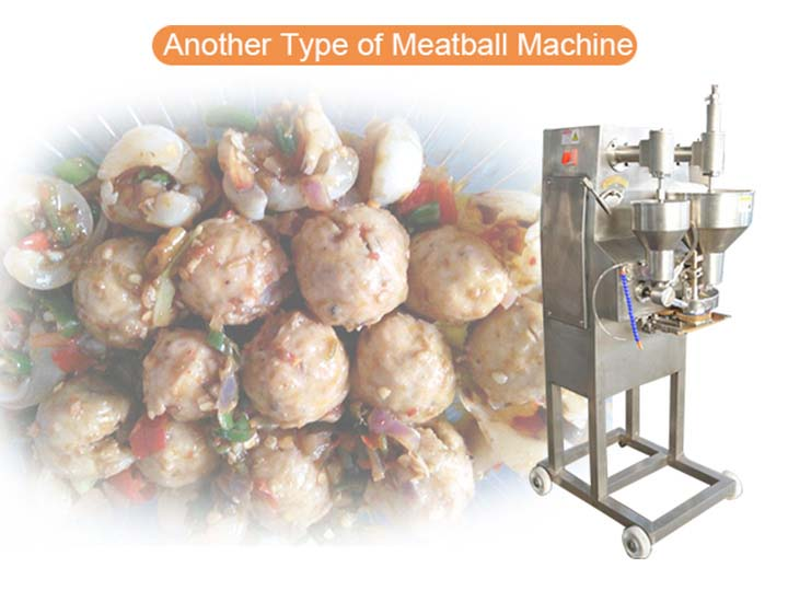 another type of meatball forming machine