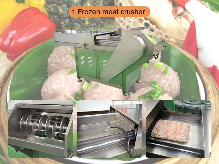 frozen meat planer