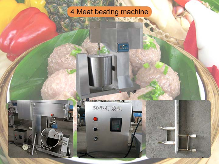 meat beating machine