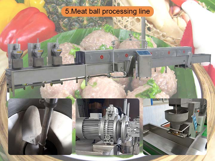 meatball processing machine