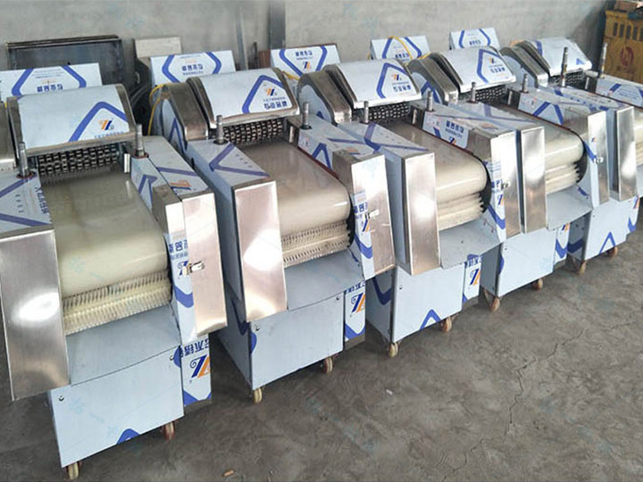 chicken cutting machine in stock