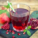delicious pomegranate juice