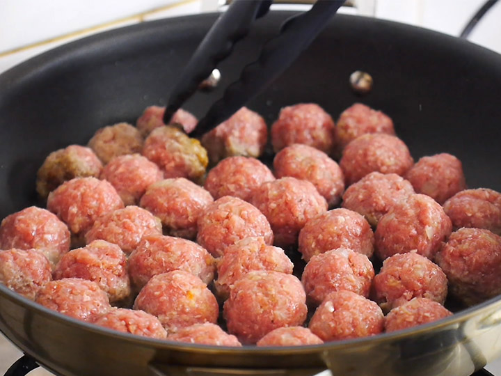 fried meatball