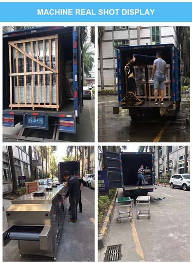 UV sterilizer machine for shipment