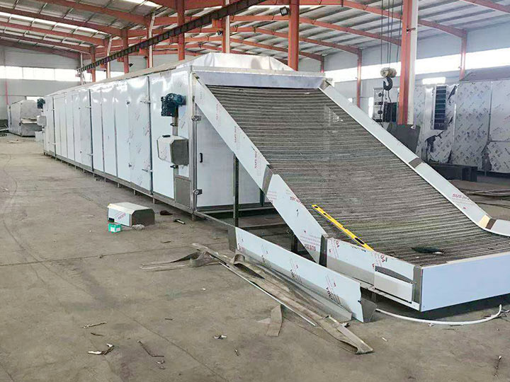 commercial continuous drying machine