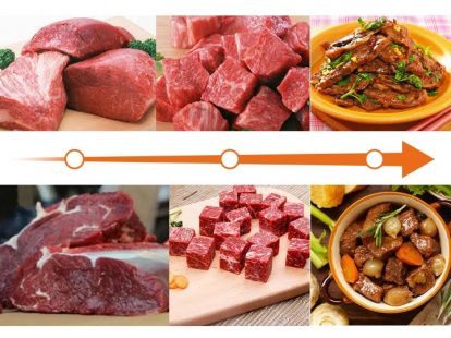 beef cutting machine