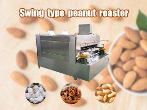 swing type peanut roaster_